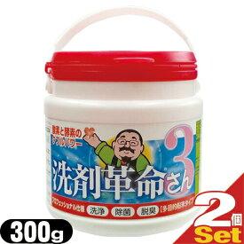 『酵素と酸素のWパワー』多目的粉末タイプ 洗剤革命3さん 300gx2個セット 【smtb-s】