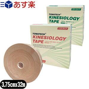 『あす楽対象』トワテック(TOWATECH) 業務用 キネシオロジーテープ(スポーツ・ソフト選択) 3.75cmx32mx1巻
