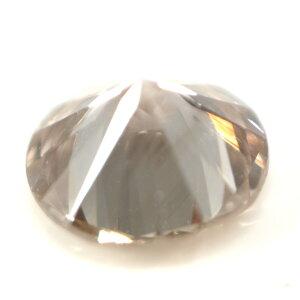 【UnderS(LightBrown)カラー】天然ブラウンダイヤモンドルース(裸石)0.071ct,VS-1【中央宝石研究所ソーティング袋付】
