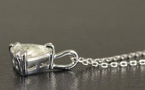 ダイヤモンド原石(マクル)ペンダント・ネックレス0.318ctプラチナ