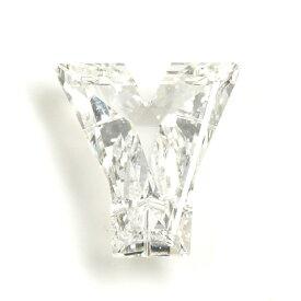 「Y」字形 ダイヤモンド ルース 0.200ct, Eカラー, VS-1, 中央宝石研究所 「Y」のイニシャルの方へ 【送料無料】