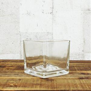 【器】 ガラス ブロック3L(120) ハイドロカルチャー 向き