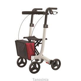 介護用品 歩行車 リトルターン トール103タイプ ワインレッド アロン化成 532-327 歩行器 介護用 リハビリ 高齢者用