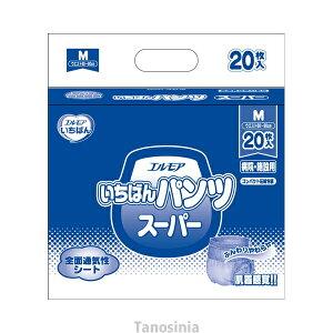 業務用 エルモア いちばんパンツスーパー M/452091 20枚×6袋 1ケース 介護用品 大人用介護おむつ