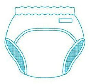 おむつ組入のパンツ型カバー Lサイズ モナーテメディカル 大人用おむつカバー 介護用品