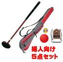 グラウンドゴルフ レディース用 G-AS4 クラブアベレージセット4 ニチヨー 初心者向け ビギナー グランドゴルフ 婦人用…