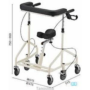 歩行器 介護用品 アルコー スイッチ 星光医療器製作所 100622 hkz 静音 歩行車 リハビリ 6輪歩行車 高齢者用