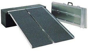 ポータブルスロープ PVSシリーズ アルミ2折式タイプ PVS120 長さ1.2m 介護用品
