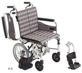 供看护使用的细长的类型轮椅SKT-2鼓形闸在的hkz