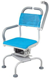 シャワーチェア 介護用品 風呂椅子 くるくるベンチD 穴無しシート KRU-316 座面回転