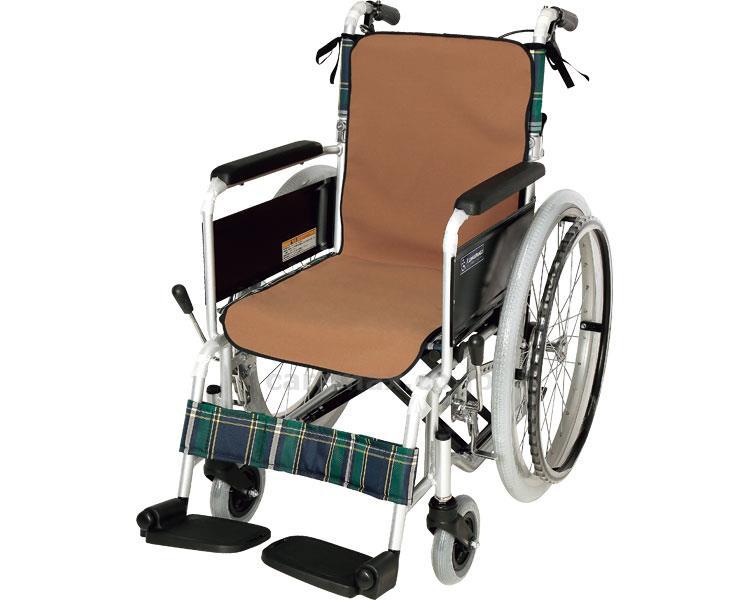 車イスシート防水シートカバー モカブラウン 車椅子 介護用品