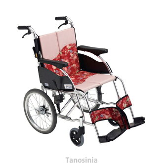 Self-run type wheelchair MPR-1 seat 40cm in width Miki wheelchair care article hkz
