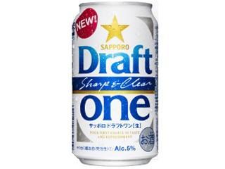 【★】サッポロ ドラフトワン(生) 350ml(24缶入)1ケース