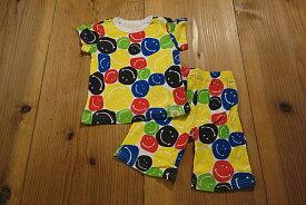 【メール便送料無料!】【16'夏新作】BAJA(バハ) カラースマイル総柄半そでパジャマ