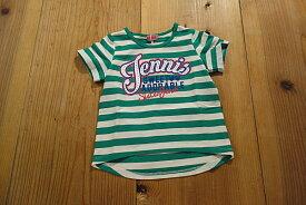 【メール便送料無料!】【16'夏新作】JENNI(ジェニィ) JennisストーンロゴボーダーTシャツ