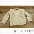 WILLMERYウィルメリー肩からフリルニットセーター