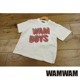 【セール/30%OFF】19'春新作 WAMWAM ワムワム WAMBOYS重ねロゴptTシャツ 子供服