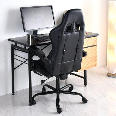 【送料無料/在庫有】ゲーミングチェアリクライニングフットレストバケットシートハイバックアームレスト椅子オフィスチェアオフィスチェアーワークチェアパソコンチェアチェアレザーゲーム椅子ゲームチェア