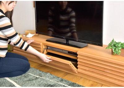 【送料無料】アルダー無垢テレビ台ローボード完成品幅150日本製おしゃれ国産木製TV台テレビボードロータイプTVボード32インチ42インチナチュラルブラウン北欧アルダー無垢150cm収納