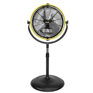 【送料無料】 扇風機 大型 40cm 業務用 コンパクト 据え置き 3枚羽根 風量3段階 回転式 工場扇 首振り 工場扇風機 サーキュレーター 大型扇風機 業務用扇風機 床置き 熱中症対策 強力 ファン