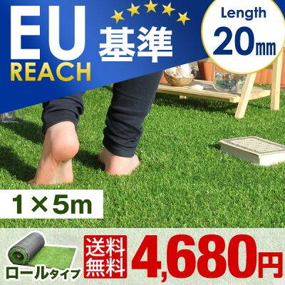 20mmリアル人工芝1×5