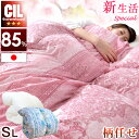 【送料無料】 日本製 羽毛布団 CILレッドラベル 消臭 抗菌 【SEK認定アレルGプラス】 ホワイトダックダウン 85% シン…