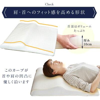 【送料無料】ボディーサポートピロー低反発ウレタン枕やわらかめマクラまくら肩こり枕首首痛みマクラ低反発ウレタン蒸れにくい調整寝汗柔らかい高さ調整高さ調節