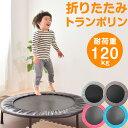 【送料無料】大人も子供も楽しめる! トランポリン 家庭用 102cm 静音 耐荷重120kg 子供 大人 エクササイズ ダイエッ…