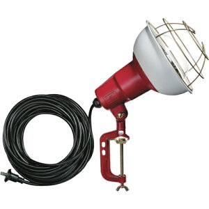 ハタヤリミテッド ハタヤ 防雨型作業灯 リフレクターランプ300W 100V電線10m バイス付 RC-310