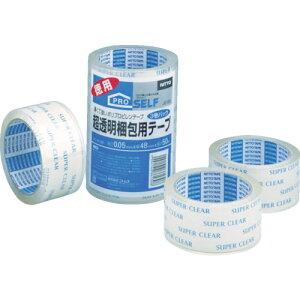 ニトムズ 超透明梱包テープ tr-3914925