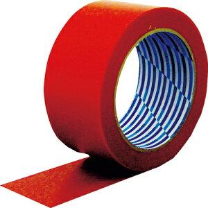 トラスコ中山 パイオラン 梱包用テープ 50mm×50m レッド tr-3914038