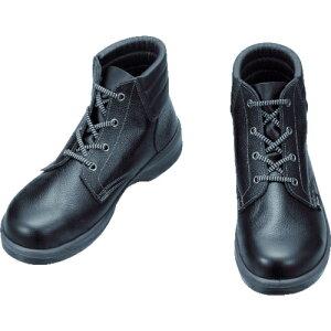 シモン 安全靴 編上靴 7522黒 25.5cm tr-1578481