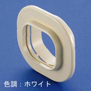 因幡電工 スリムダクトSD スリムキャップ 壁貫通部化粧プレート 100タイプ ホワイト SWC100W