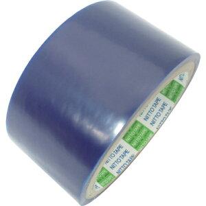 日東 金属板用表面保護フィルム SPV-M-6030 0.06mm×50mm×100m ライトブルー tr-4321391