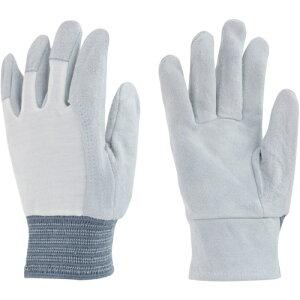 トラスコ中山 トワロン 牛床革手袋 革手袋甲メリヤス (3双入) tr-4746414