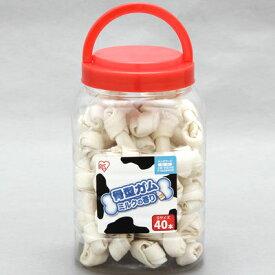 アイリスオーヤマ 骨型ガム ミルクの香り Sサイズ P-MGB40S