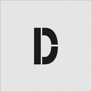 トラスコ中山 IM ステンシル D 文字サイズ100×65mm tr-8186088