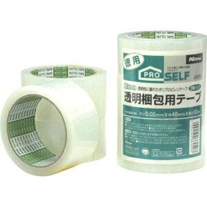 ニトムズ 透明梱包用テープ PK3500 (3巻入) tr-7930313