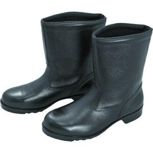 ミドリ安全 ゴム底安全靴 半長靴 V2400N 28.5CM tr-8217966