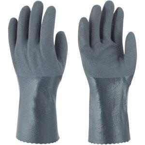 トラスコ中山 トワロン ニトリルゴム手袋 耐油ニトリルパワーロング S tr-4040571
