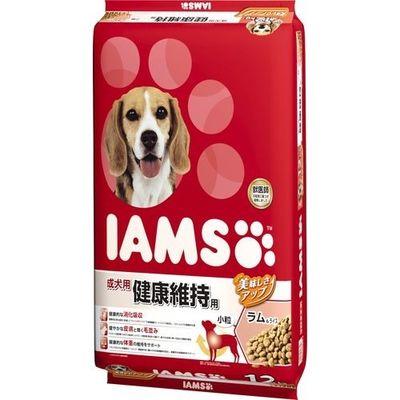 マースジャパンリミテッド アイムス 成犬用 健康維持用 ラム&ライス 小粒 12kg E207027H
