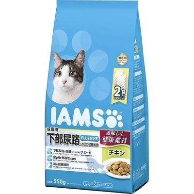 マースジャパンリミテッド アイムス 成猫用 下部尿路とお口の健康維持 チキン 550g E472088H【納期目安:1週間】