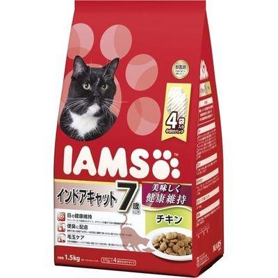 マースジャパンリミテッド アイムス 7歳以上用 インドアキャット チキン 1.5kg E472091H【納期目安:1週間】