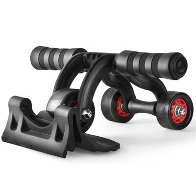 ITPROTECH 3輪腹筋トレーニングローラー YT-ABR-3R