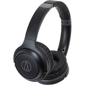 44e073d5a53bb8 オーディオテクニカ Bluetooth対応ワイヤレスヘッドホン ブラック ATH-S200BT-BK【納期目安: