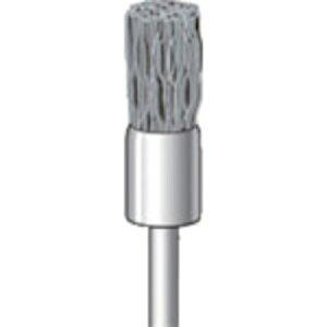 トラスコ中山 ナカニシ ダイヤ入りナイロンブラシ #600 外径8×軸径3×軸長58 51058