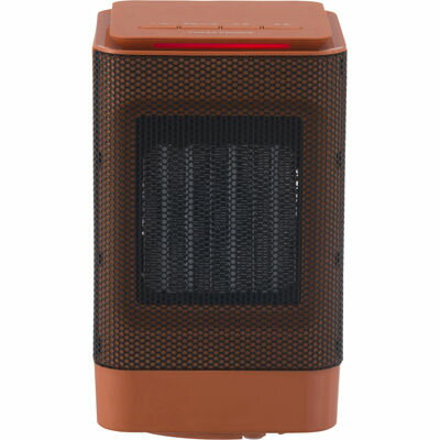 ユアサプライムス ミニセラミックヒーター(オレンジ) YBZ-S95YS(D)