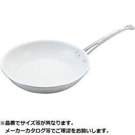 中尾アルミ製作所 キングフロン スノーホワイトフライパン(浅型) 27cm KND-608606