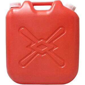 北陸土井工業 灯油缶 赤 18L ポリタンク 4977767220230