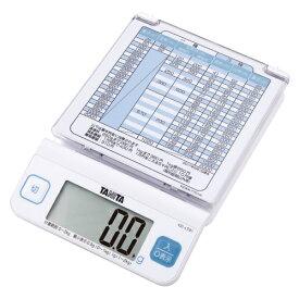 タニタ デジタルレタースケール KD-LT01-WH (1台) 4904785713970